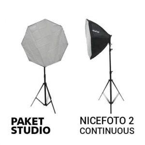 jual Paket Studio NiceFoto 2 Continuous Light harga murah surabaya jakarta