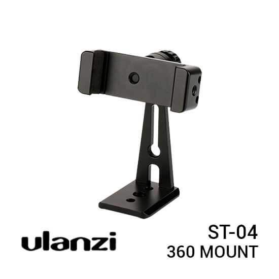 jual Ulanzi ST-04 CNC Metal 360 Mount harga murah surabaya jakarta