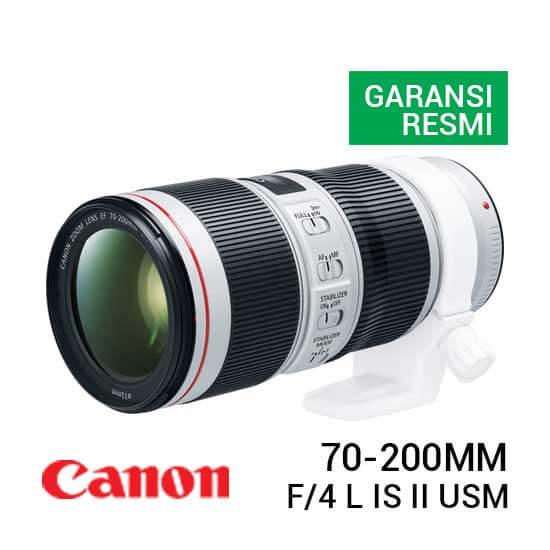 jual lensa Canon EF 70-200mm f/4 L IS II USM harga murah surabaya jakarta