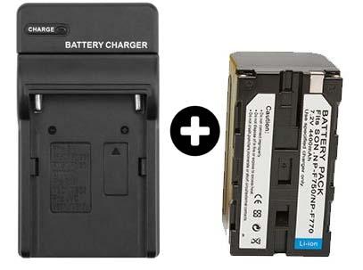 Jual Paket Battery F750F770 + Charger Harga Murah dan Spesifikasi
