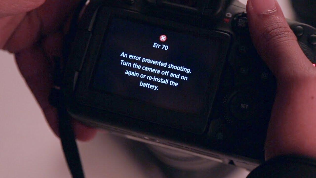 Daftar Kode Error Kamera Canon dan Solusinya oleh - komunitasfotografi.xyz