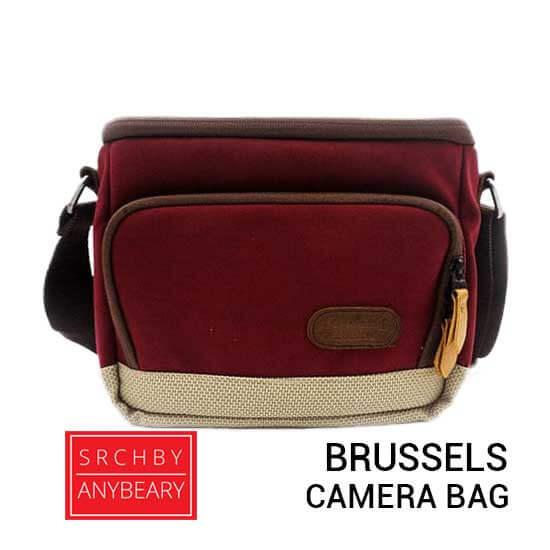 jual tas kamera AnyBeary Brussels Red harga murah surabaya jakarta