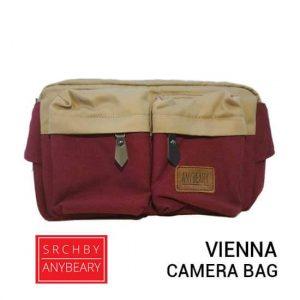 jual tas kamera AnyBeary Vienna Red harga murah surabaya jakarta