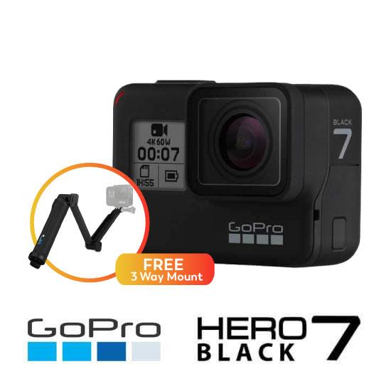 GoPro Hero7 Black Bundling Harga Murah dan Spesifikasi
