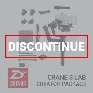 Zhiyun Crane 3 Lab Creator Package Discontinue