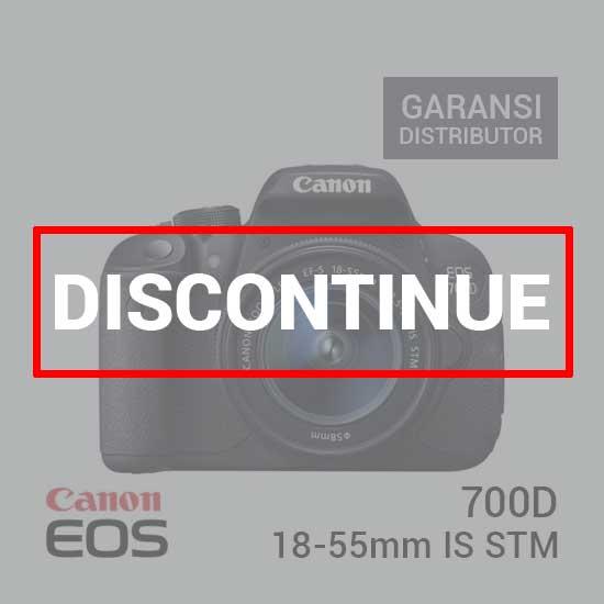Jual Canon EOS 700D Kit EF-S 18-55mm IS STM Harga Murah dan Spesifikasi