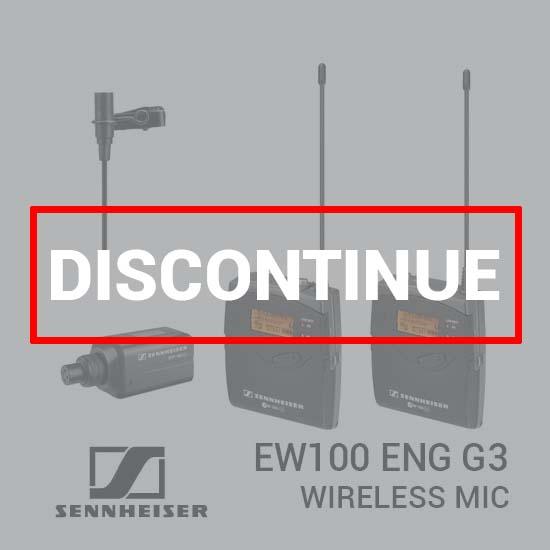 Sennheiser EW100 ENG G3 Wireless Microphone dc