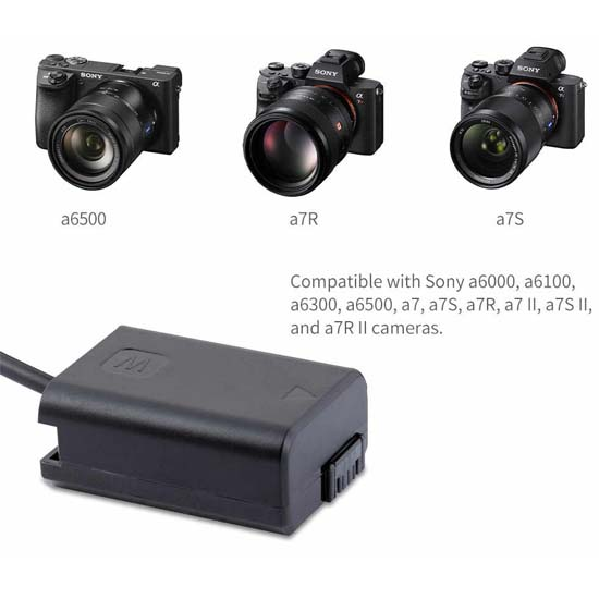 Feelworld NP-FW50 Power Adapter
