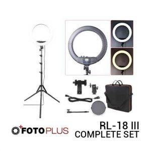 Jual Fotoplus Ring Light RL-18 Mark III Complete Set Harga Terbaik dan Spesifikasi
