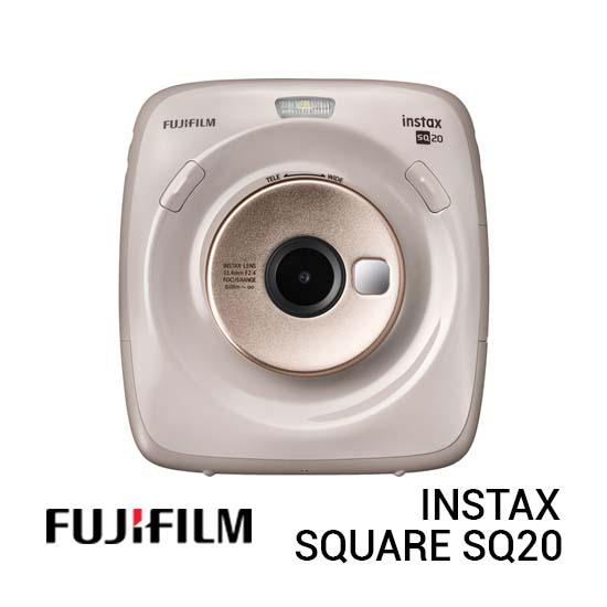 Jual FujiFilm Instax Square SQ20 Beige Harga Terbaik dan Spesifikasi