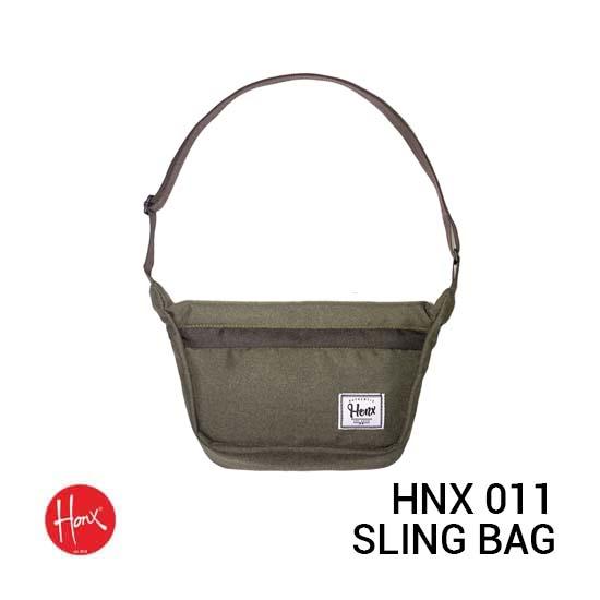 Jual HONX Sling Bag HNX 011 Green Harga Murah dan Spesifikasi