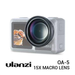 Jual Ulanzi OA-5 15x Macro Lens for DJI Osmo Action Harga Murah dan Spesifikasi