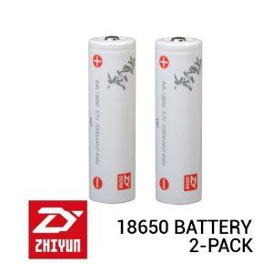 Jual Zhiyun 18650 Lithium-Ion Battery 2-Pack Harga Murah dan Spesifikasi