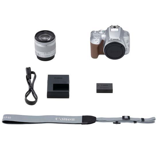 Jual Canon EOS 200D II Kit EF-S 18-55mm IS STM Silver Harga Terbaik dan Spesifikasi