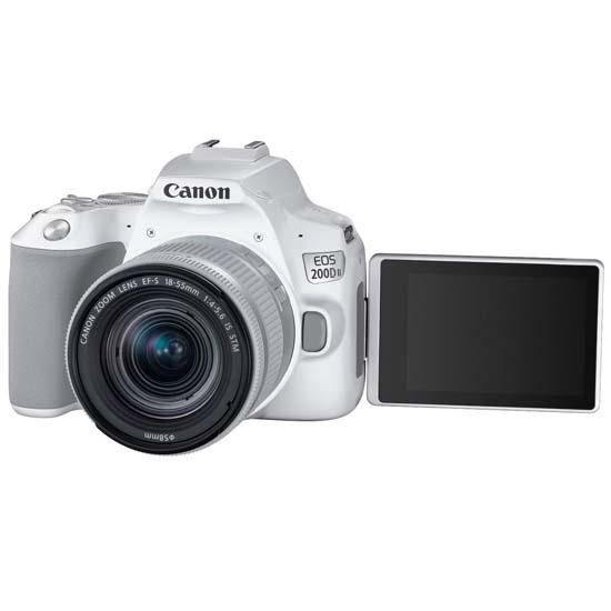 Jual Canon EOS 200D II Kit EF-S 18-55mm IS STM White Harga Terbaik dan Spesifikasi