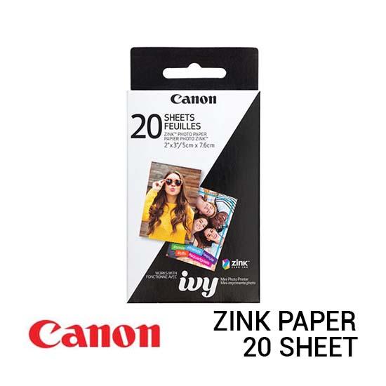 Jual Canon ZINK Photo Paper Pack - 20 Sheets Harga Murah dan Spesifikasi