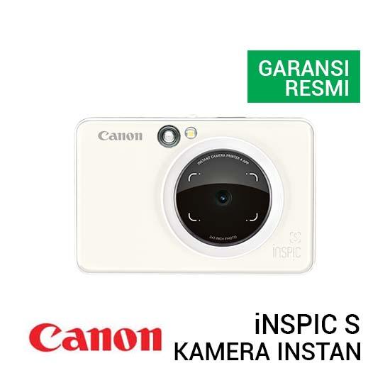 Jual Canon iNSPIC S Pearl White Harga Terbaik dan Spesifikasi