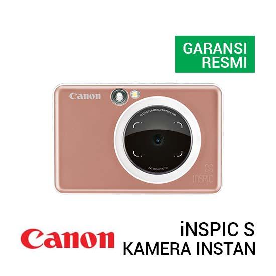Jual Canon iNSPIC S Rose Gold Harga Terbaik dan Spesifikasi