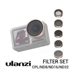 Jual Ulanzi Filter for DJI Osmo Action - CPLND8ND16ND32 Harga Murah dan Spesifikasi