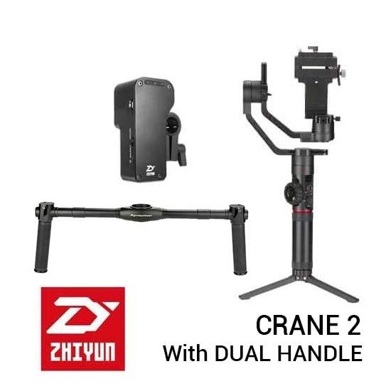 Jual Zhiyun Crane 2 With Dual-Handle Grip Harga Terbaik dan Spesifikasi