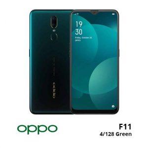 jual Oppo F11 4/128GB Green harga dan spesifikasi