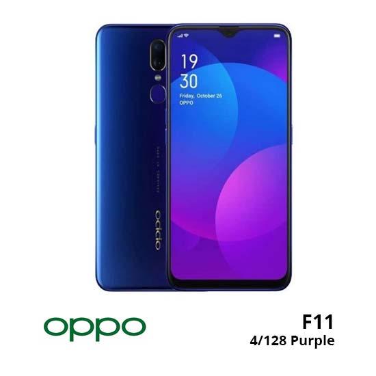 jual Oppo F11 4/128GB Purple harga dan spesifikasi