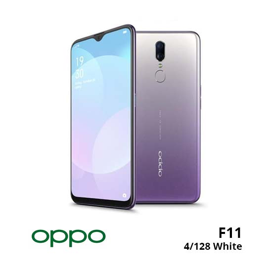 jual Oppo F11 4/128GB White harga dan spesifikasi