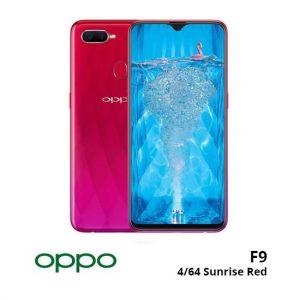jual Oppo F9 4/64GB Sunrise Red harga dan spesifikasi