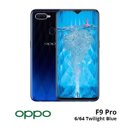 jual Oppo F9 Pro 6/64GB Twilight Blue harga dan spesifikasi