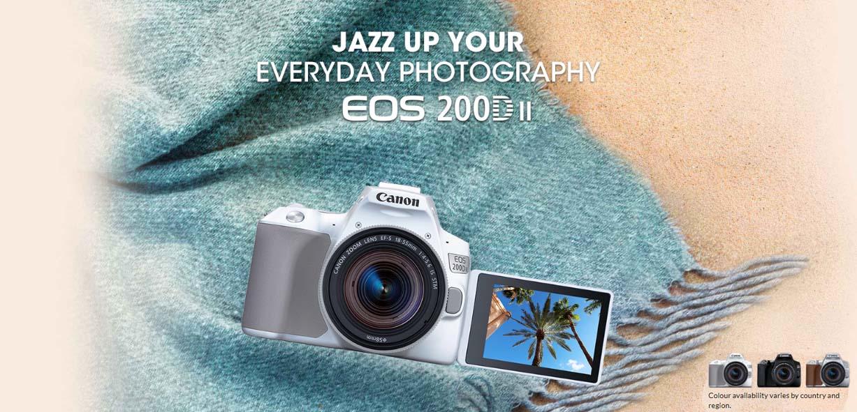 Jual Canon EOS 200D II Harga Terbaik dan Spesifikasi