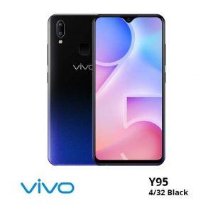jual Vivo Y95 4/32GB Black harga dan spesifikasi