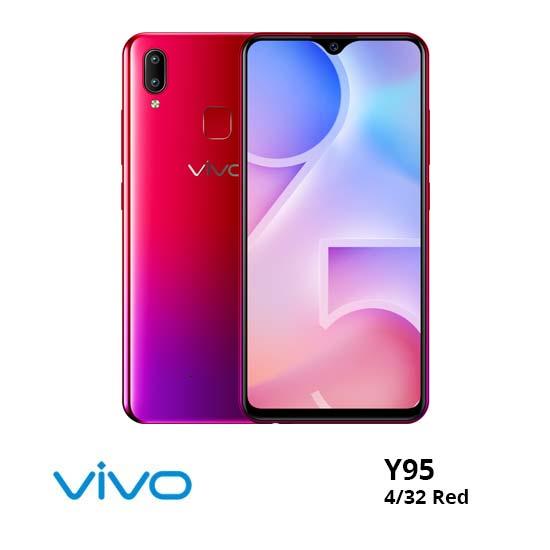 jual Vivo Y95 4/32GB Red harga dan spesifikasi