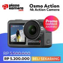 jual osmo action toko kamera terlengkap dan termurah plazakamera surabaya dan jakarta