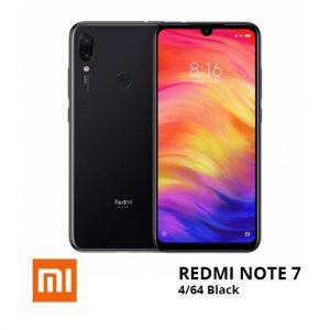 jual Xiaomi Note 7 4/64GB Black harga dan spesifikasi