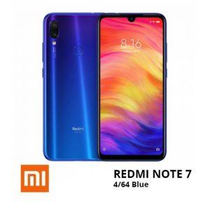 jual Xiaomi Note 7 4-64GB Blue harga dan spesifikasi