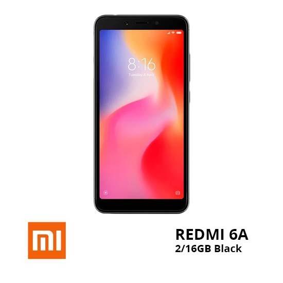 jual Xiaomi Redmi 6A 2-16GB Black TAM harga dan spesifikasi