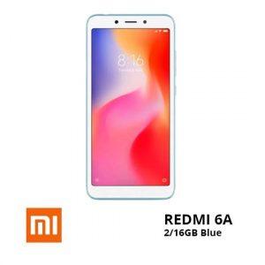 jual Xiaomi Redmi 6A 2-16GB Blue TAM harga dan spesifikasi
