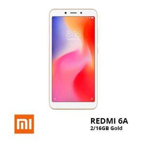 jual Xiaomi Redmi 6A 2-16GB Gold TAM harga dan spesifikasi