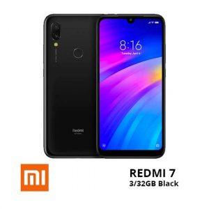 jual Xiaomi Redmi 7 3-32GB Black harga dan spesifikasi