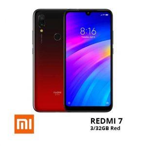 jual Xiaomi Redmi 7 3-32GB Red harga dan spesifikasi
