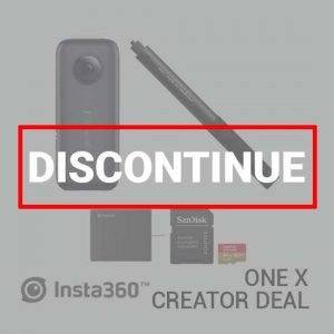Jual Insta360 One X Creator Deal Harga Terbaik dan Spesifikasi