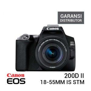 Jual Canon EOS 200D II Kit 18-55 IS STM - Garansi Distributor Harga Murah dan Spesifikasi