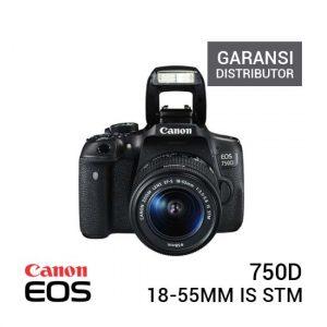 Jual Canon EOS 750D Kit 18-55mm IS STM - Garansi Distributor Harga Murah dan Spesifikasi