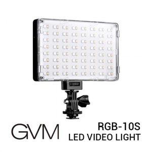 Jual GVM RGB-10S RGB LED Video Light Harga Murah dan Spesifikasi