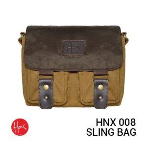 Jual HONX HNX 008 Sling Bag Brown Brown Harga Murah dan Spesifikasi