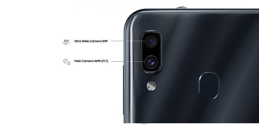 Jual Samsung Galaxy A30 4GB 64GB Black plazakamera surabaya jakarta d