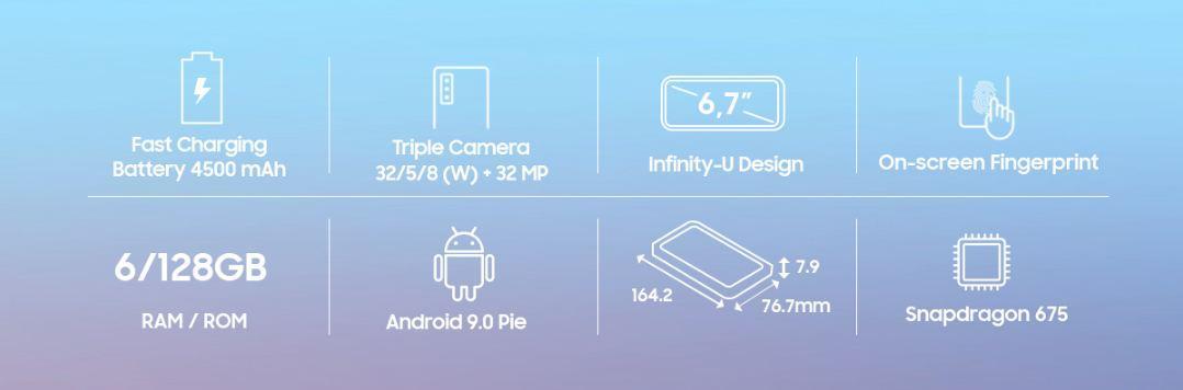 Jual Samsung Galaxy A70 6GB 128GB Plazakamera Surabaya Jakarta a