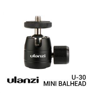 Jual Ulanzi U-30 Mini Ballhead Harga Murah dan Spesifikasi