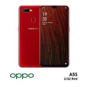 jual Oppo A5S 2/32GB Red harga dan spesifikasi