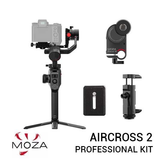 Jual Moza AirCross 2 Gimbal Stabilizer Professional Kit Harga Terbaik dan Spesifikasi
